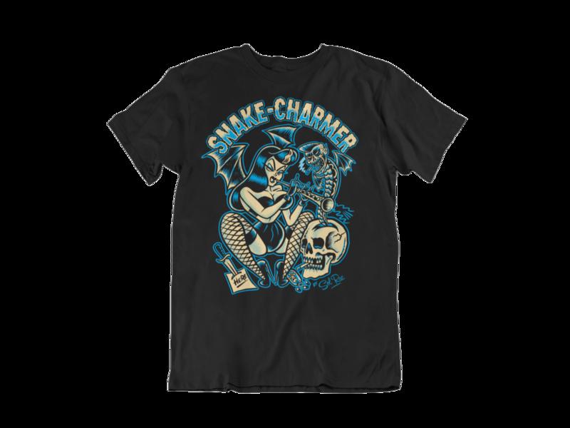 SNAKE CHARMER T-SHIRT MAN BY SOL RAC