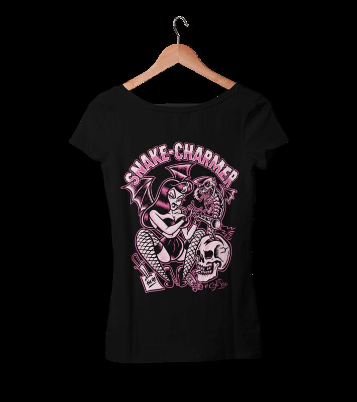 SNAKE CHARMER T-SHIRT WOMAN BY SOL RAC