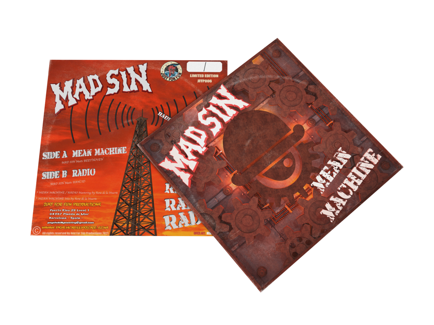 "MAD SIN ""Mean Machine"" EP 2021"