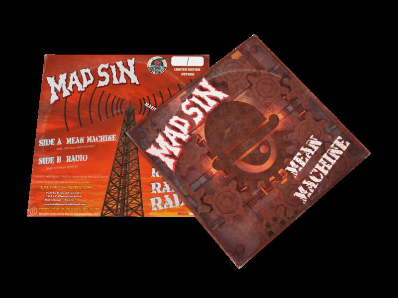 """MAD SIN """"Mean Machine"""" EP 2021"""