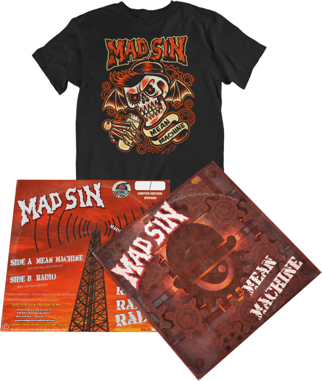 """MAD SIN """"Mean Machine"""" pack for Men"""