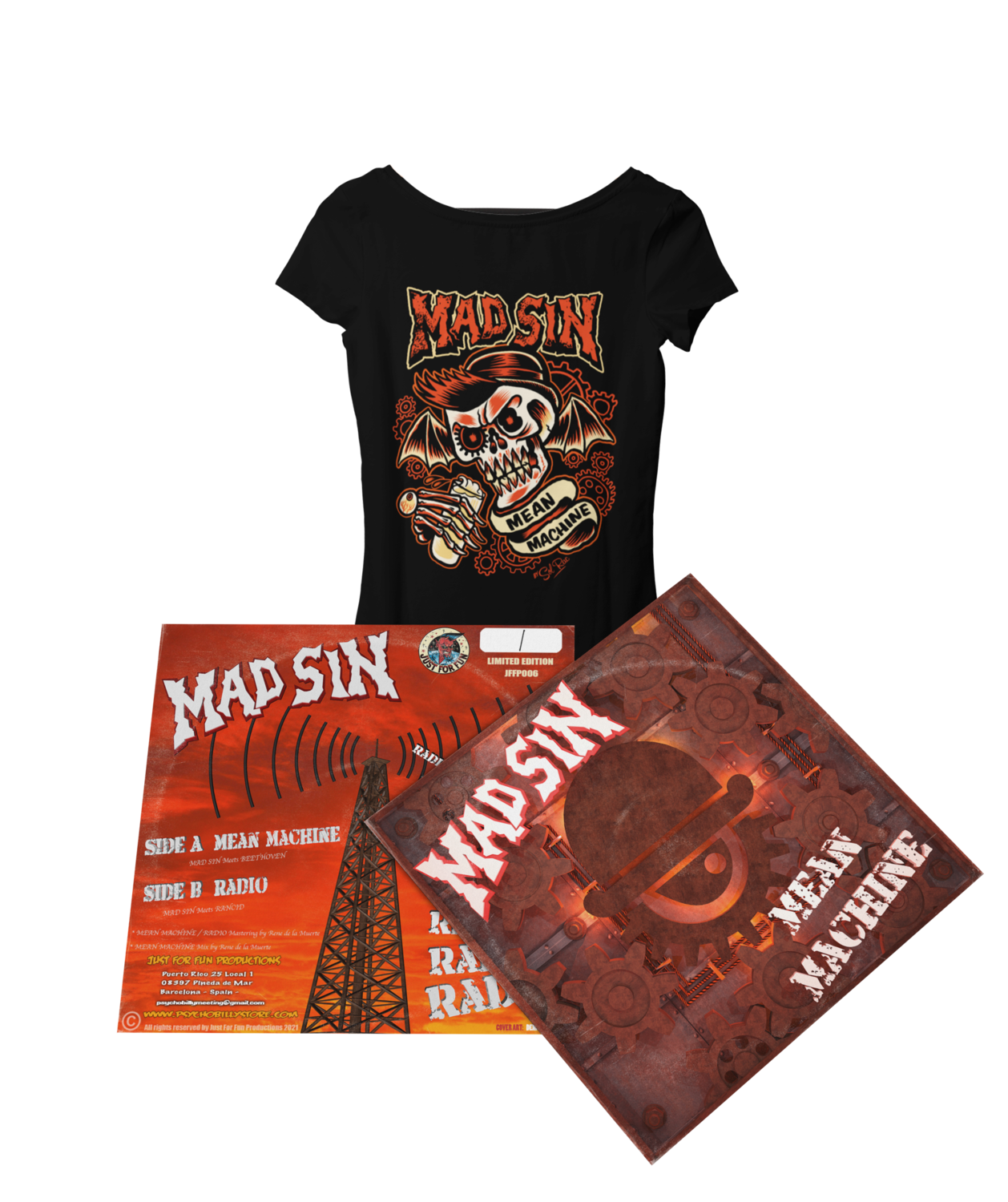 """MAD SIN """"Mean Machine"""" pack for Women"""