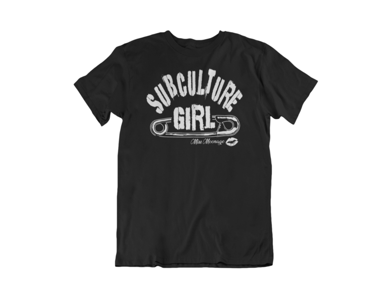 SUBCULTURE GIRL by MISS MOONAGE tshirt for MEN