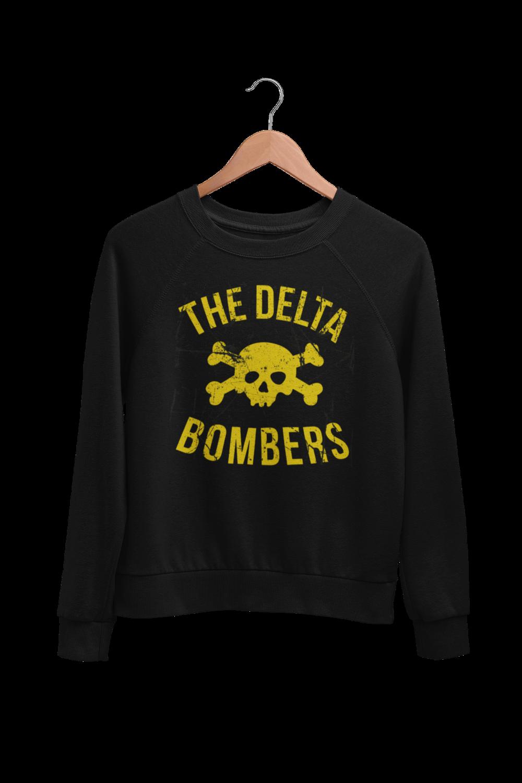 "THE DELTA BOMBERS ""Skull Classic logo"" SWEATSHIRT"