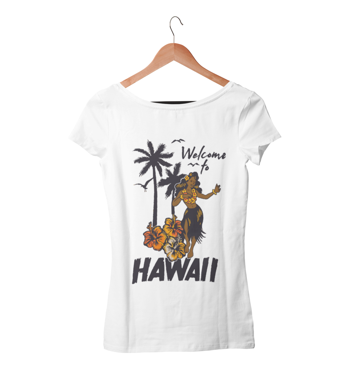 WELCOME TO HAWAI T-SHIRT FOR WOMEN