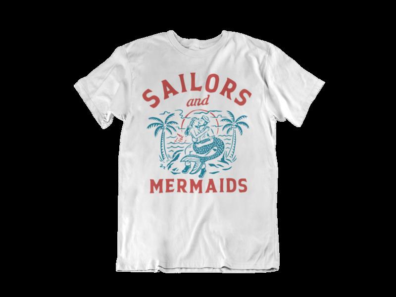 SAILORS AND MERMAIDS T-SHIRT FOR MEN