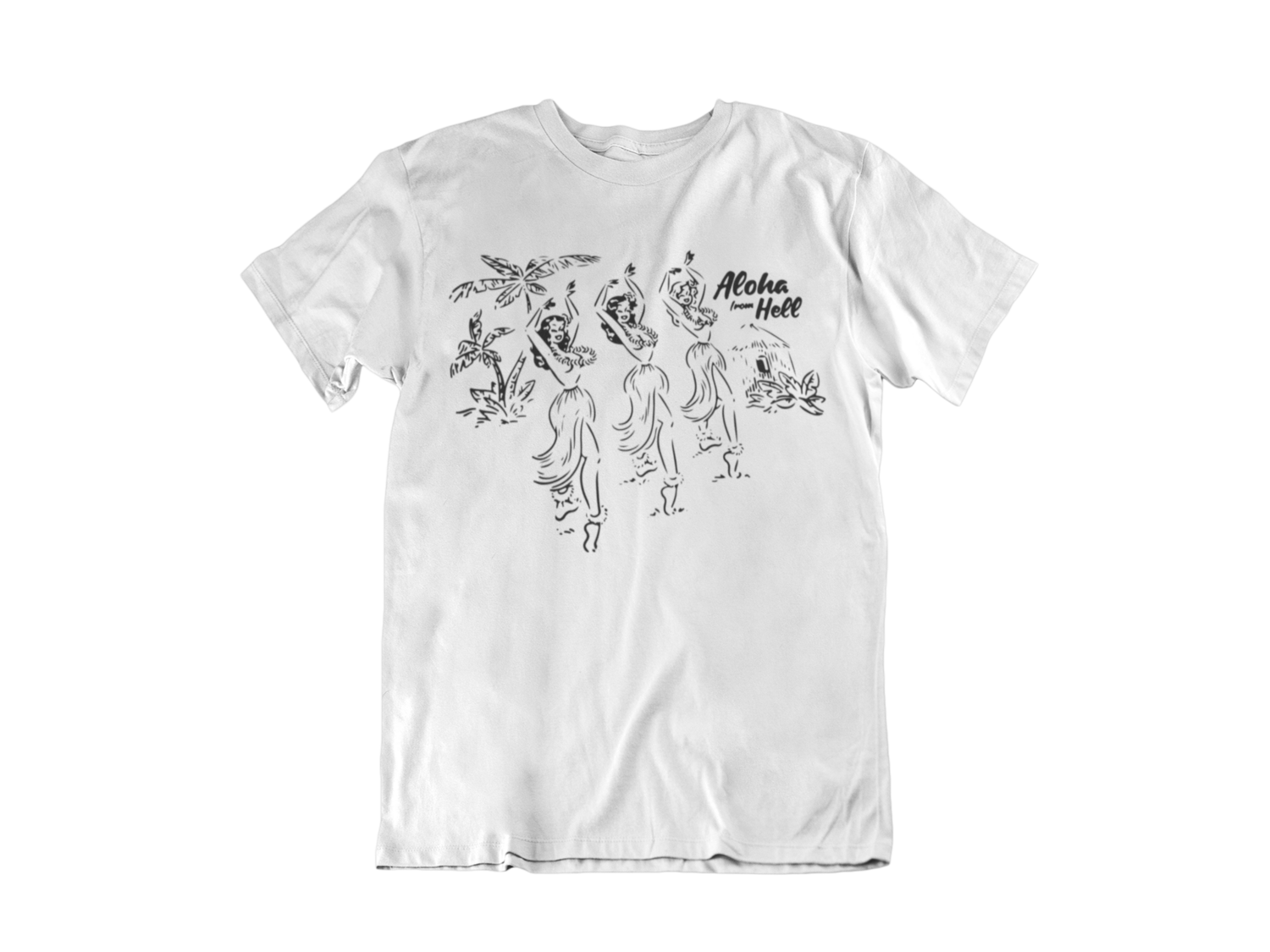 ALOHA FROM HELL T-SHIRT FOR MEN