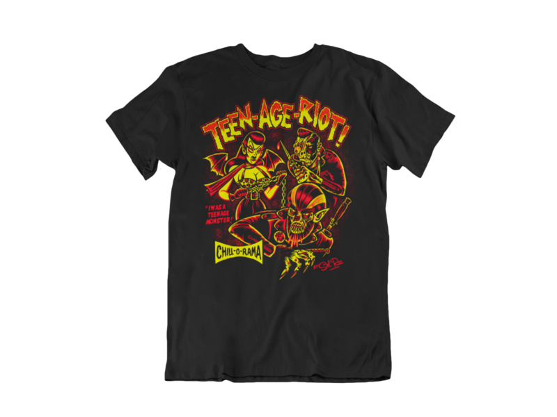 TEEN-AGE-RIOT T-SHIRT MAN BY SOL RAC