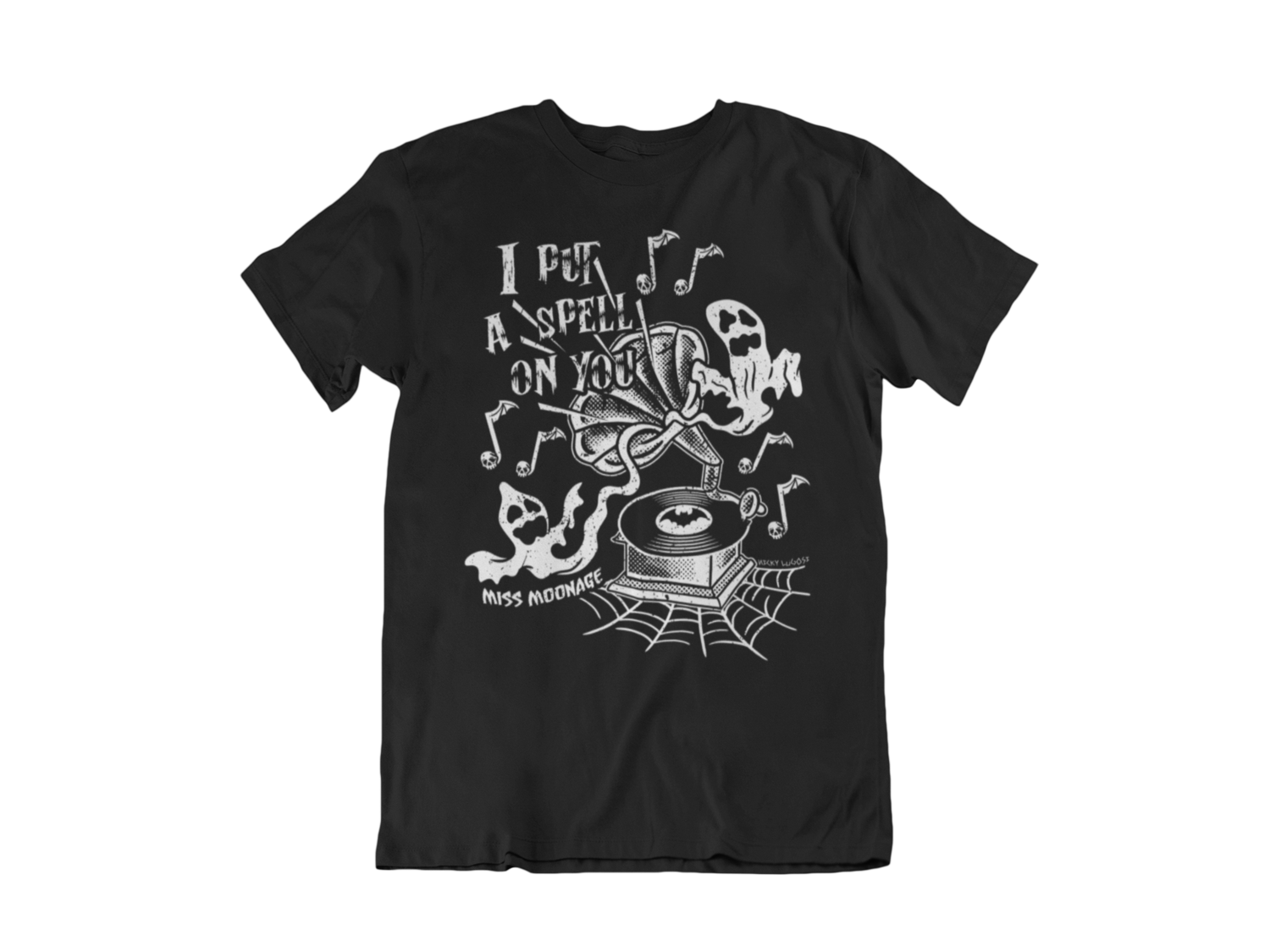 I PUT SPELL ON YOU by MISS MOONAGE tshirt for MEN