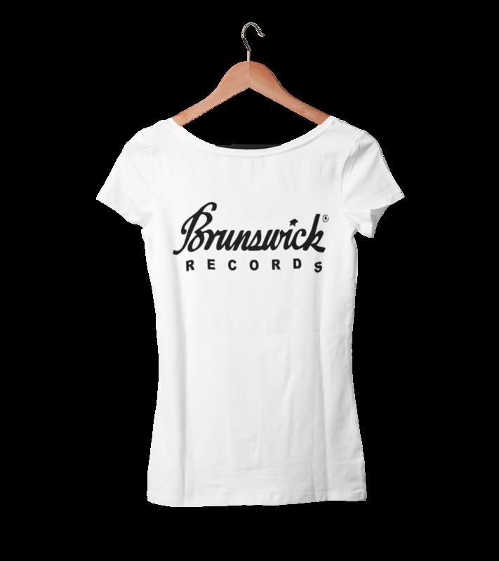 BRUNSWICK RECORDS T-SHIRT WOMAN