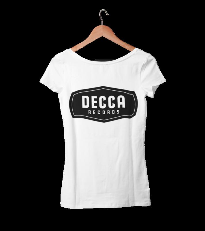 DECCA RECORDS T-SHIRT WOMAN