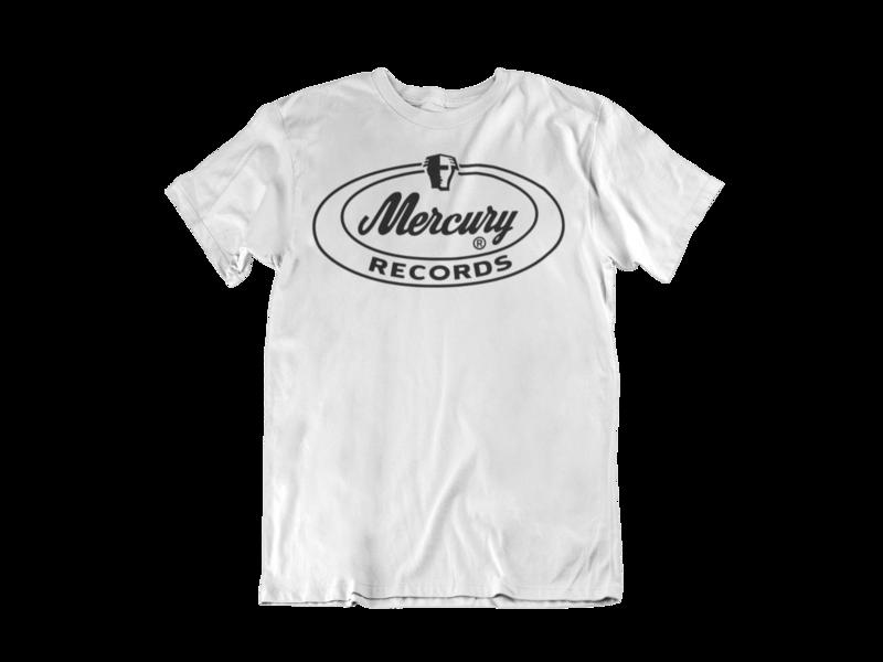 MERCURY RECORDS T-SHIRT MEN