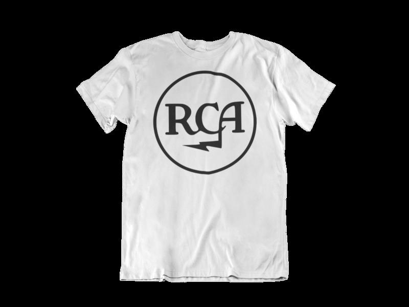 RCA RECORDS T-SHIRT MEN