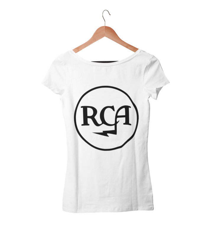 RCA RECORDS T-SHIRT WOMAN