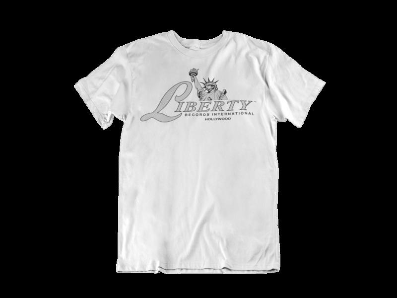LIBERTY RECORDS T-SHIRT MEN