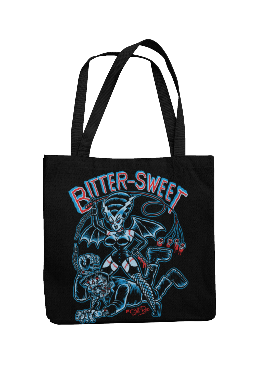 BITTER SWEET Cotton Bag  logo design SOL RAC