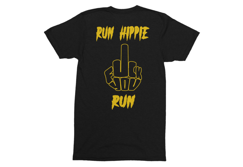 RUN HIPPIE RUN TSHIRT FOR MEN
