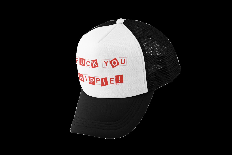FUCK YOU HIPPIE TRUCKER CAP