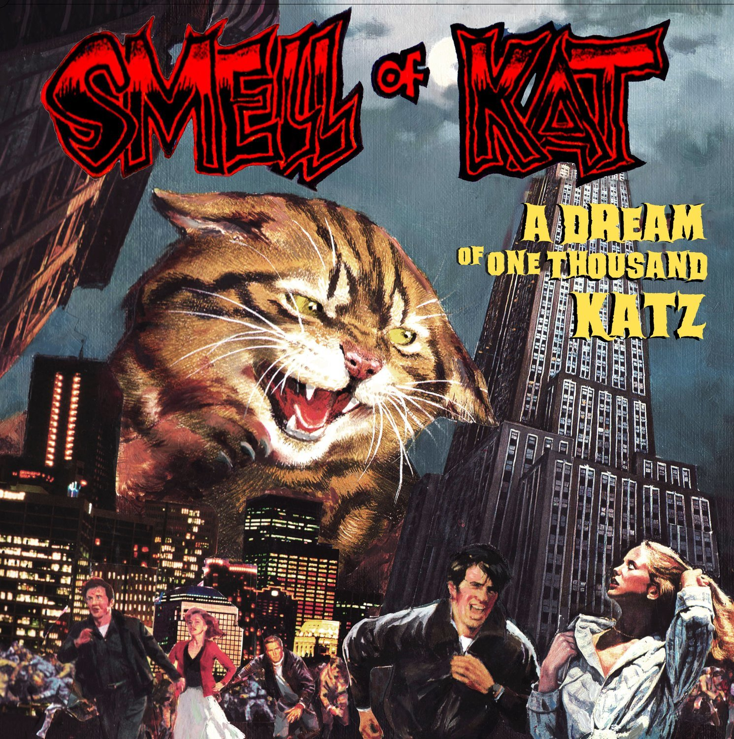 "SMELL OF KAT ""A dream of one thousand katz"" EP 2015 DOWNLOAD DIGITAL"