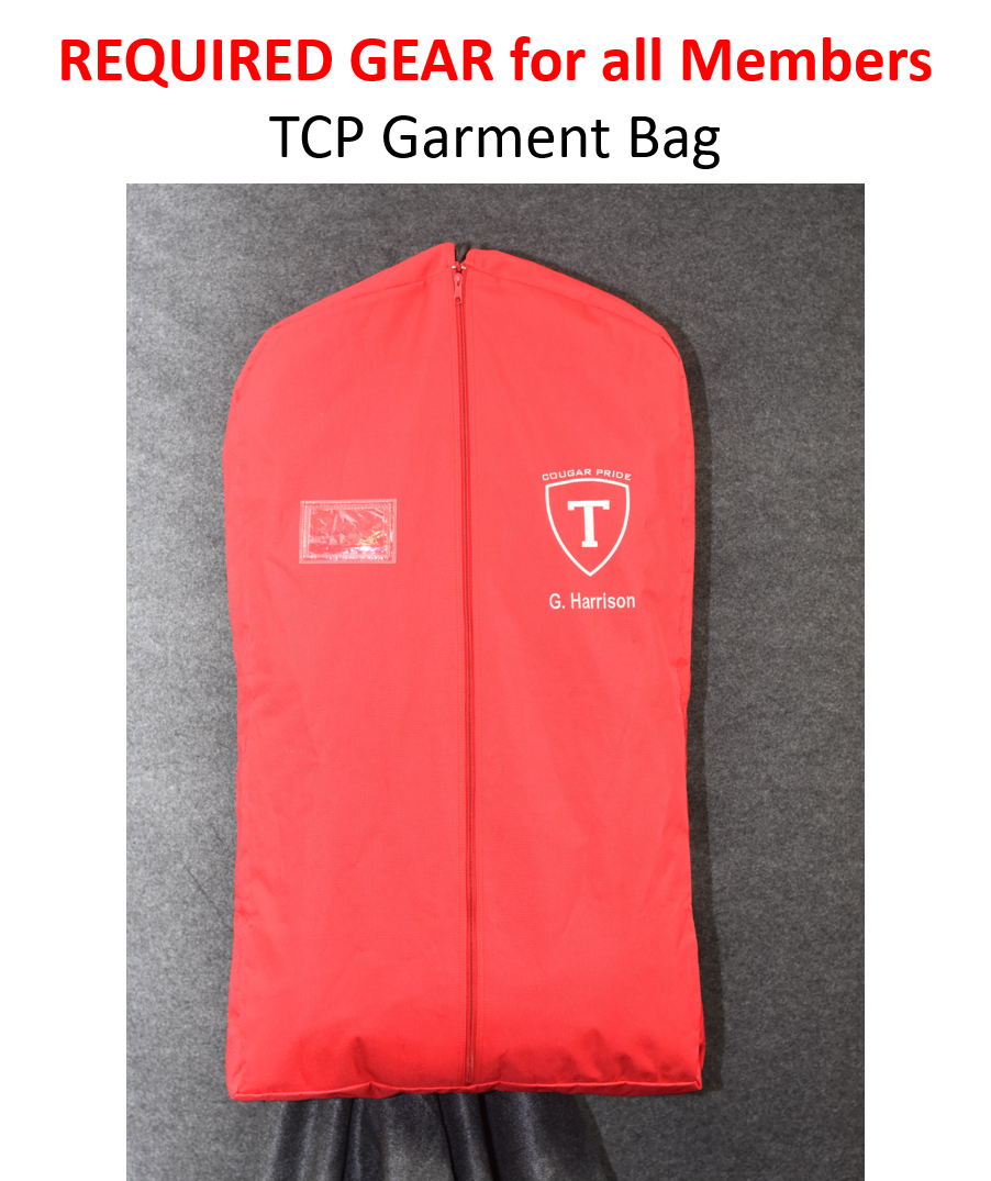 TCP Required Gear - Garment Bag