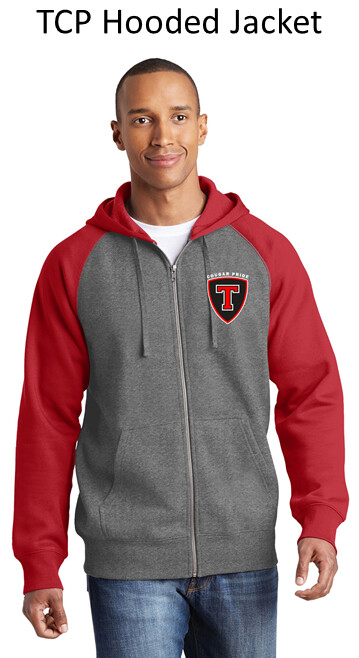 TCP Hooded Full Zip Raglan Jacket