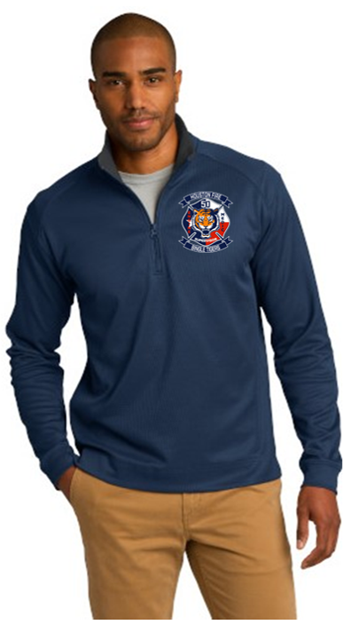 Station Logo 1/4 Zip Pullover Station Jacket