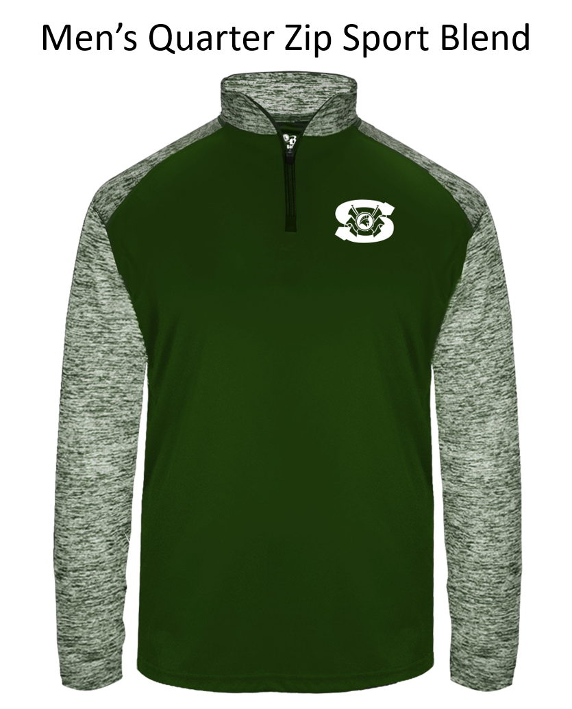Spartan Band Men's Quarter Zip Pullover