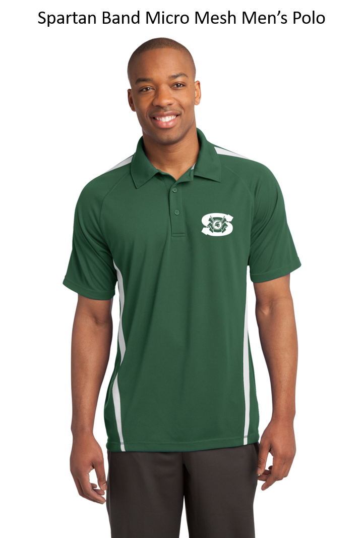 Spartan Band Men's Polo
