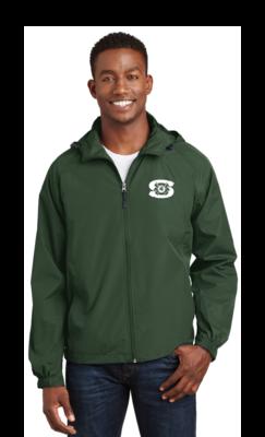 Spartan Band Raglan Sleeve Hooded Full Zip Jacket
