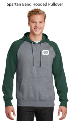 Spartan Band Hooded Pullover