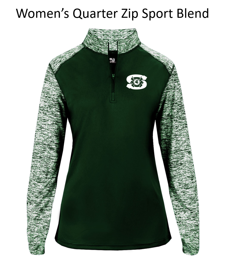 Spartan Band Women's Quarter Zip Pullover