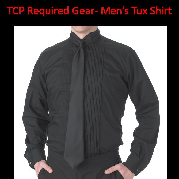 TCP Required Gear Men's Tuxedo Shirt for Concert Season