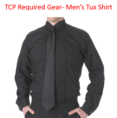 TCP Required Gear Men's Tuxedo Shirt for Concert Season
