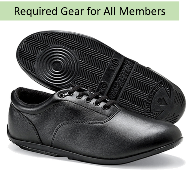 Required Gear - Spartan Band Drillmaster Marching Shoes