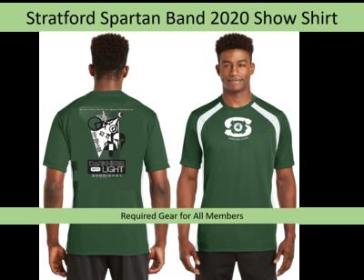 Required Gear - Spartan Band 2020 Show Shirt