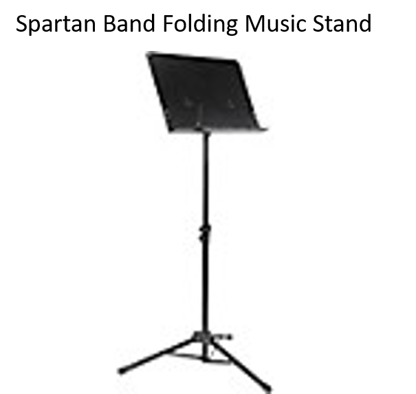 Spartan Band Folding Music Stand for Home Practice