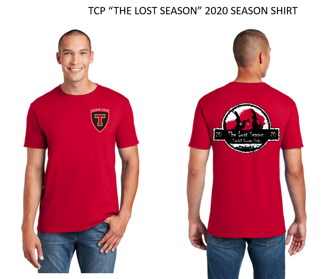 "TCP ""THE LOST SEASON"" 2020 SEASON SHIRT"