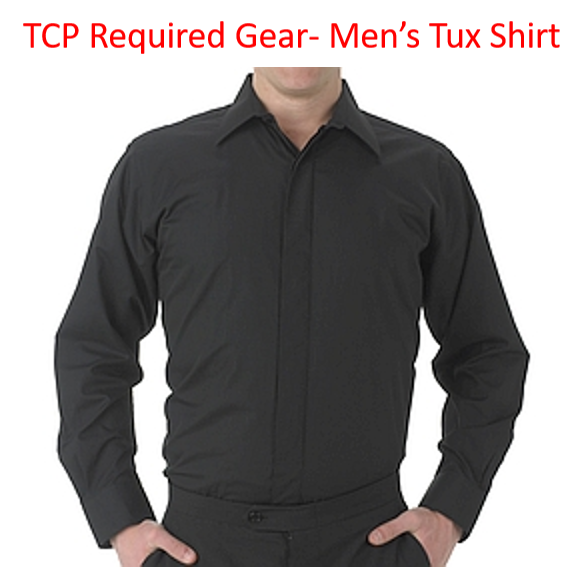 TCP Required Gear - Men's Tuxedo Shirt for Concert Season