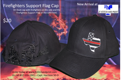 Firefighters Support Cap