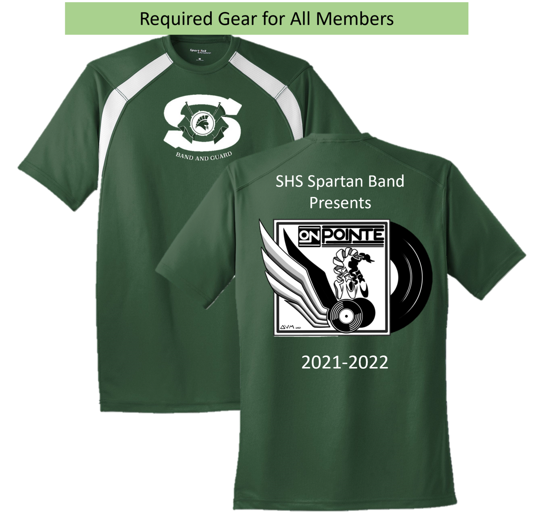 Required Gear - Spartan Band 2021 Show Shirt