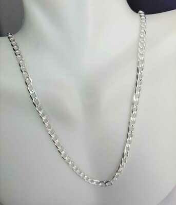 Cadena Cubana diamantada 3.5mm de Ancho CC06