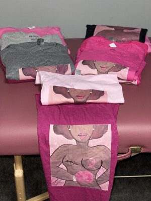 Pink Breast Cancer T-shirt