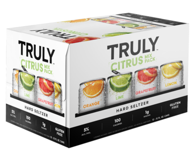 Truly Citrus Pack 12oz 12 Pack