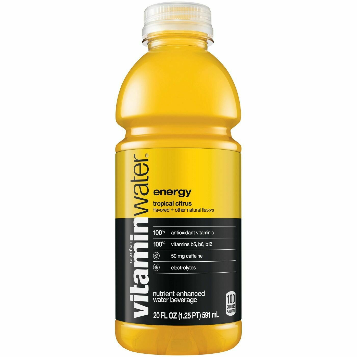 Vitamin Water 20oz Tropic Citrus