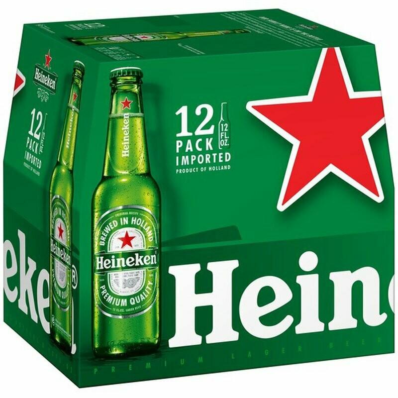 Heineken 12oz 12pack Bottle