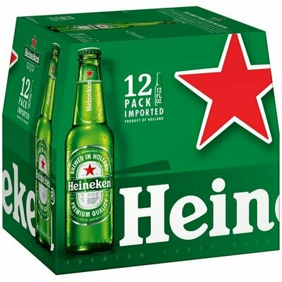 Heineken 12oz 12pack Bottle
