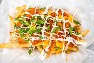Loaded Buffalo Cheese Fries
