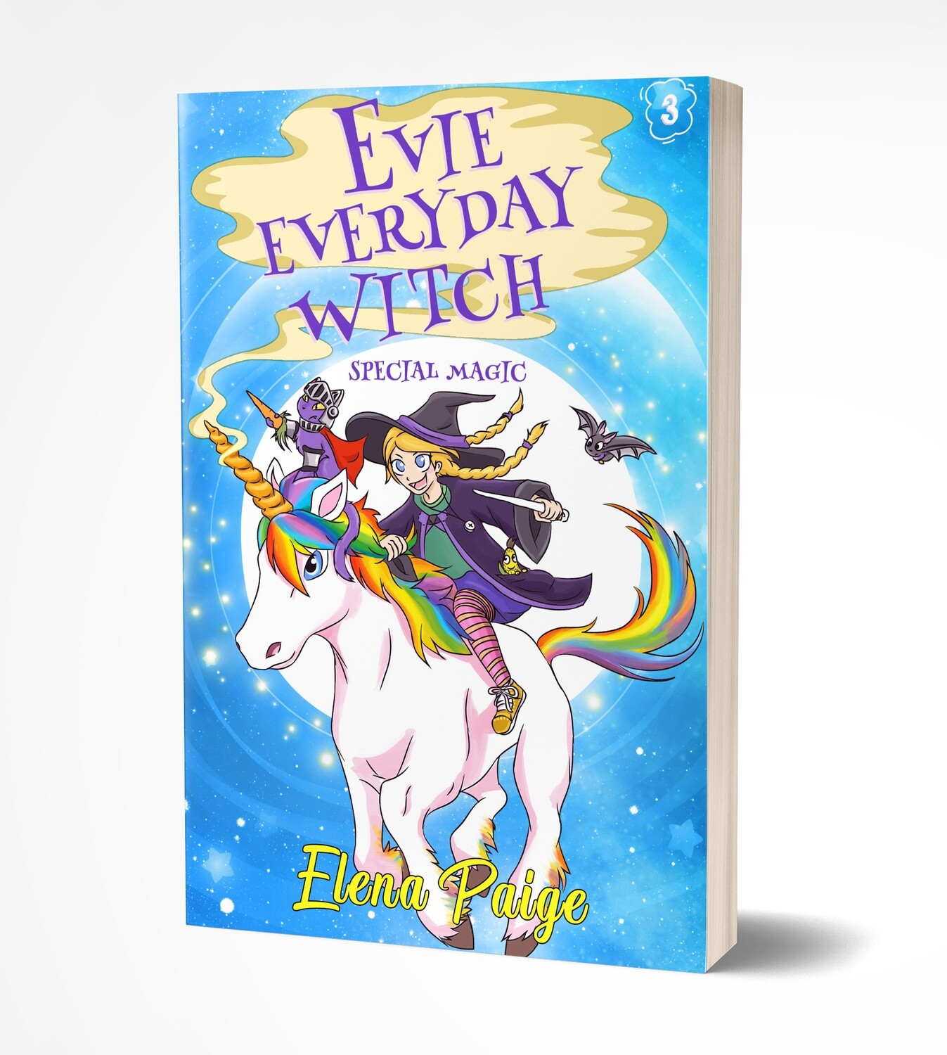 Special Magic (Evie Everyday Witch Book 3) - Paperback Edition 8x5