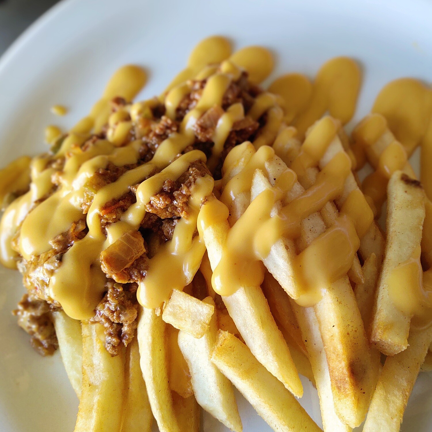 Cheezy Beef Fries