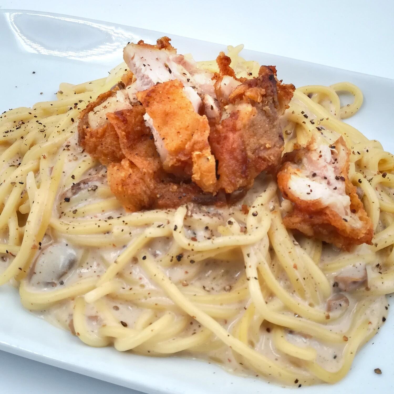 Carbonara Crispy Chicken